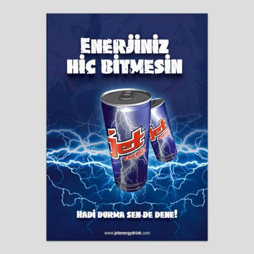 Jet Energy İlan Tasarımı