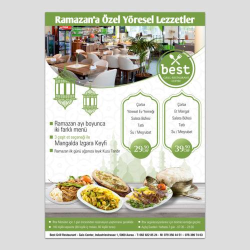 Best Restaurant İlan Tasarımı