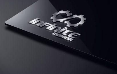 Infinite Makina & CNC Logo Tasarımı