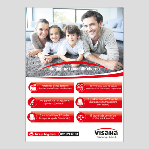 Visana İlan Tasarımı